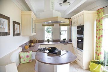 Musterhaus inneneinrichtung küche  Möbel › Haus- & Holzbau